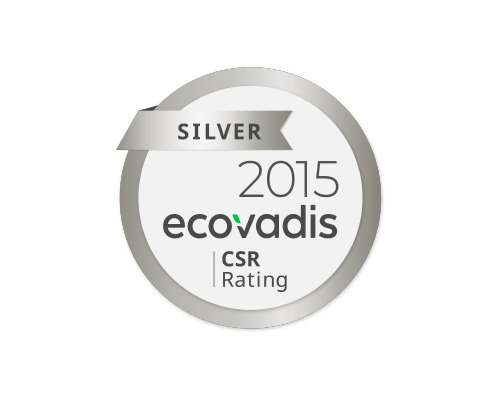 Corcoran Quality Ecovadis CSR Rating Logo