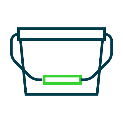 Corcoran Products Packaging buckets icon