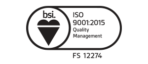 Corcoran quality BSI ISO logo