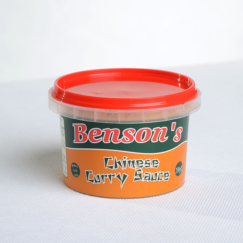 Corcoran In Mould Labelling Round Container curry