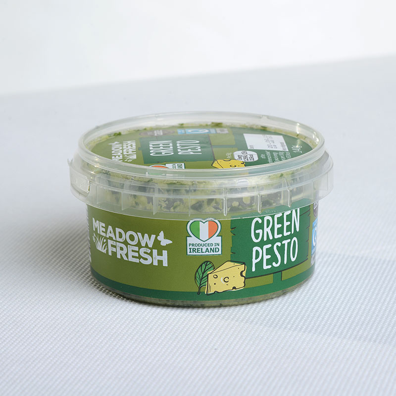 Corcoran In Mould Labelling Round Container pesto