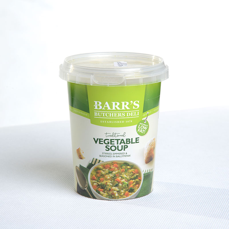 Corcoran In Mould Labelling Round Container soup