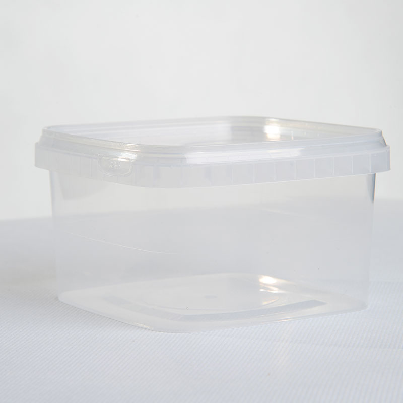 Corcoran Products Tamper Evident container square