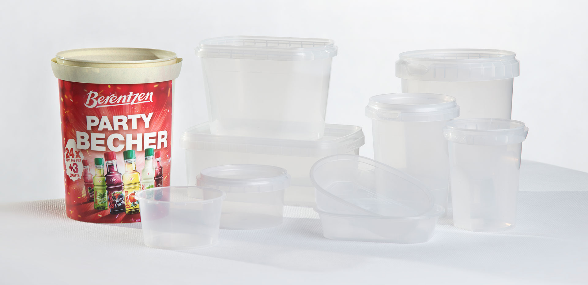 Corcoran Products Packaging Bio-based containers
