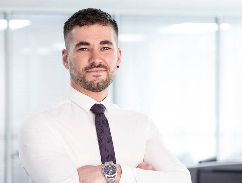 Jordan Derricott Inside Sales Corcoran UK