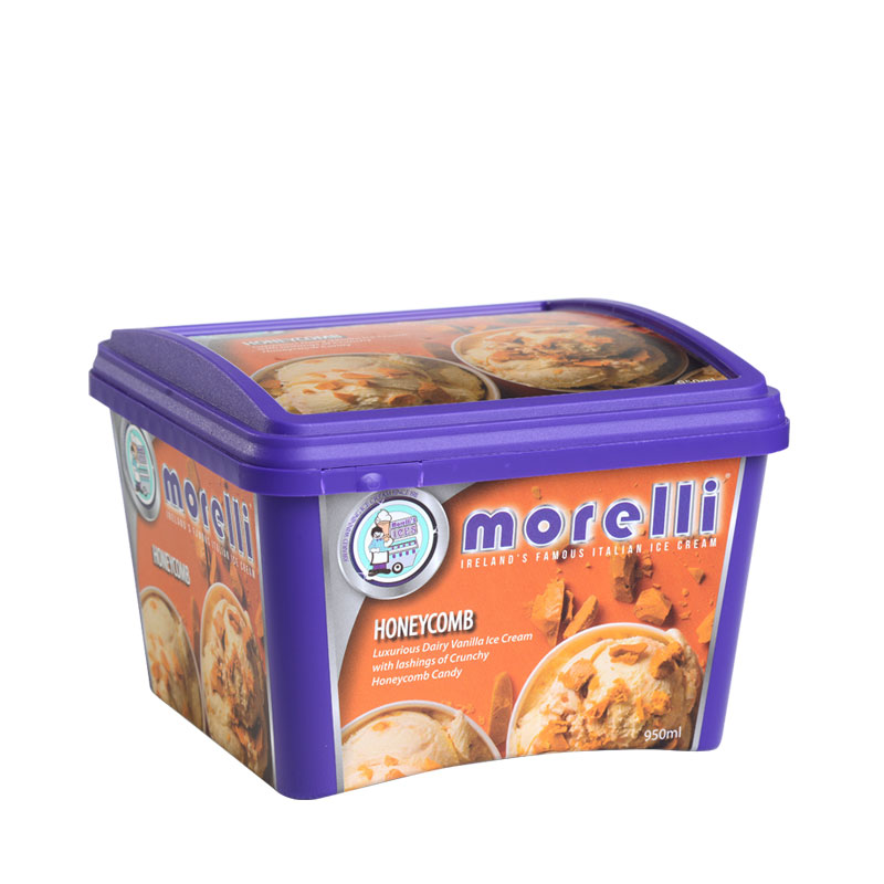 Corcoran In Mould Labelling Square Container Ice cream
