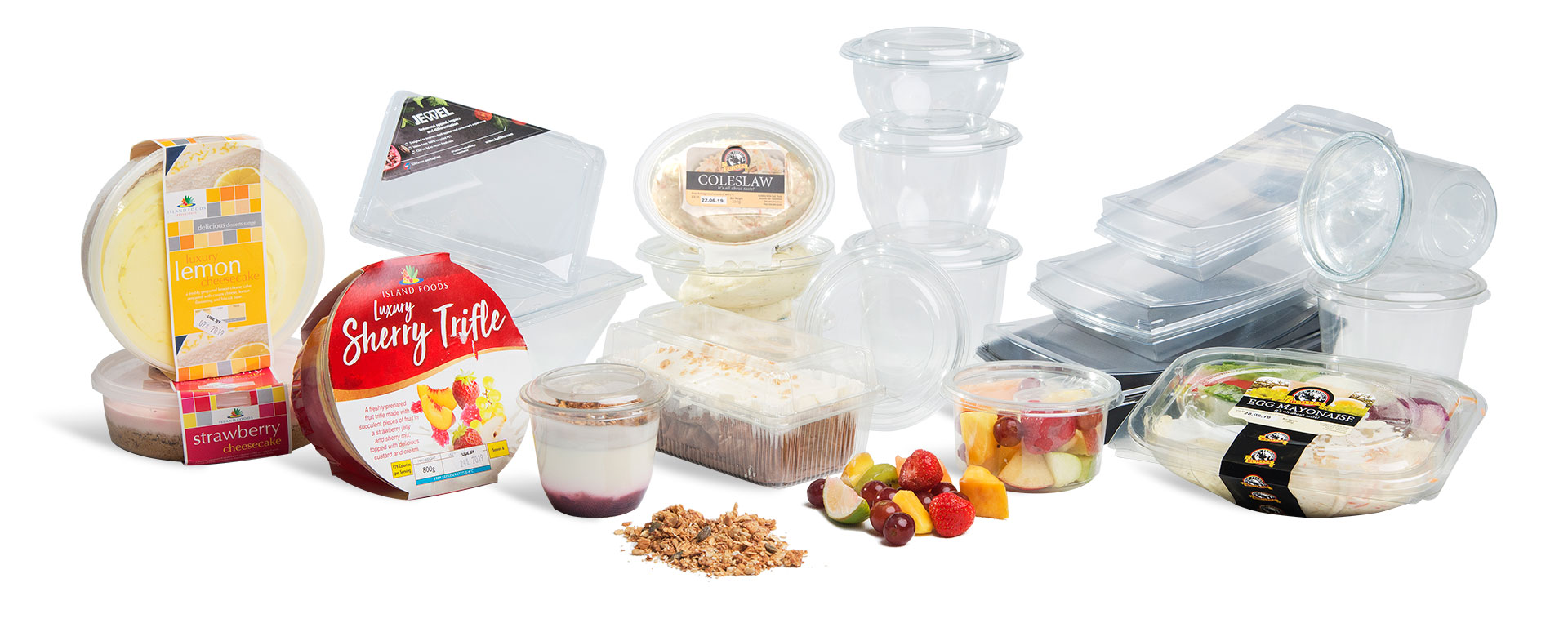 Corcoran Products Packaging PET containers