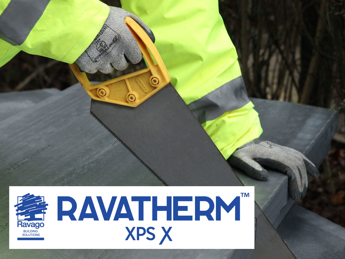 Corcoran RAVATHERM™ XPS extruded polystyrene XPS Insulation Cutting